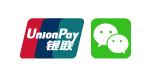 UnionPay, 中国国内銀行, Wechat 決済